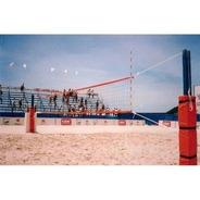 Rede Profissional Volei De Praia C/2 Faixas (seda)
