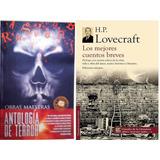 Paquete Lovecraftt Mejores Cuentos + Antología Del Terror Om