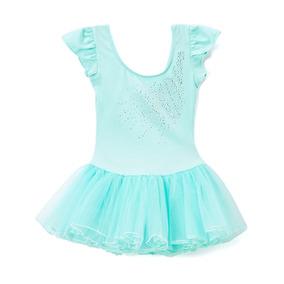 Malla Bailarina Danza Ballet Importada Aq Nena Xl (6a8 Años)