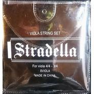 Encordado Para Viola 3/4 - 4/4 Stradella Sviola
