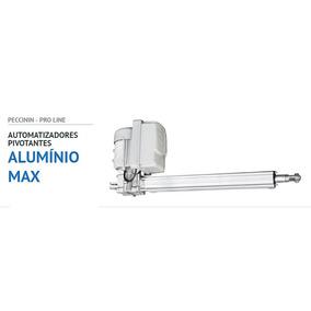 Kit Motor Portão Pivotante 1/3 Max Alum 3,5m Peccinin Duplo