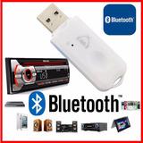 Receptor Bluetooth Usb Para Auto Radio Equipo Sonido Envios