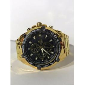 Relógio Masculino Tecnet 62828ch Black Resistente A Água
