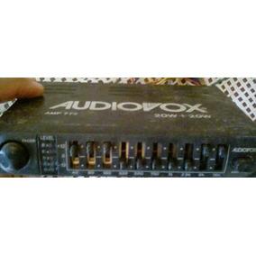 Amplificador Ecualizador Audiovox