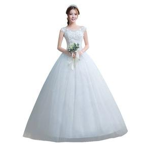 Vestido Noiva Princesa Regata M Evangélica 12x