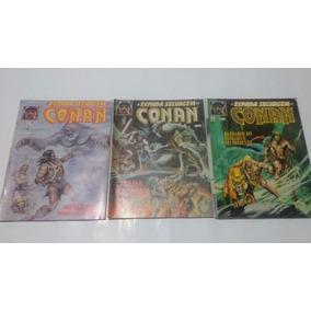 69 Edições Da Espada Selvagem De Conan 7,00 Cada Unidade