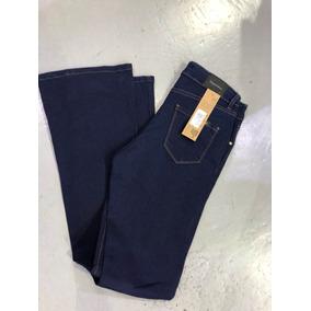 Pantalón Jean Oxford Azul Oscuro Mujer