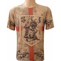 Camiseta São Jorge Brasão