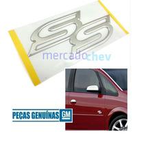 Emblema Ss Porta Meriva Astra Corsa Grande Original Gm Novo