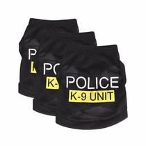 Roupinhas Pet Desenho Policial