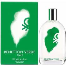 Perfume Benetton Verde -- Caballero 100ml -- Benetton