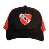 Gorra Escudo Bordado Jean Club Atlético Independiente