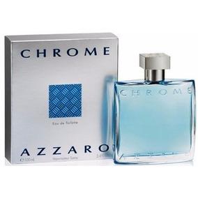 Perfume Azzaro Chrome 100ml Masculino Edt Original E Lacrado