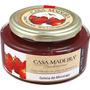 Geléia Tradicional De Morango C/ Pedaços Casa Madeira - 3und