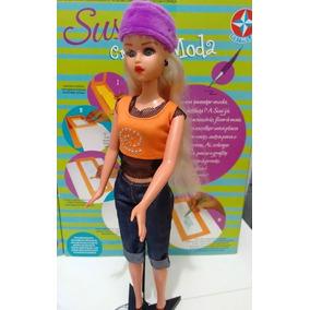 Boneca Susi Original Estrela Estilista Criando Moda Na Caixa