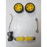 Chasis Robot Seguidor De Línea Arduino Robotica Kit