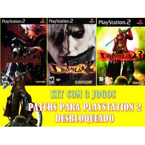 Kit Com 3 Jogos Devil May Cry - Playstation 2