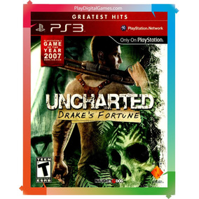 Uncharted Drakes Fortune Ps3 Digital Stock Disponible Oferta