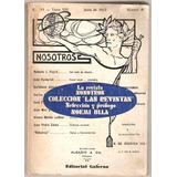 La Revista Nosotros Las Revistas 3 Noemi Ulla Ed. Galerna