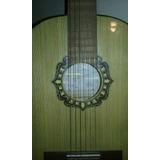 Guitarra De Estudio-criolla Clásica Artesanal-fonseca Mod 25