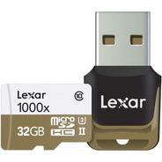 Tarjeta Microsd Lexar Professional 32gb 1000x 150mbs (4590)