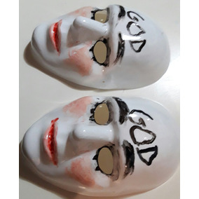 Mascara La Purga Plastica Jodas Fiestas Cumples Obras Terror