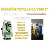Estación Total Marca Leica Ts06 2 Producto De Exibición