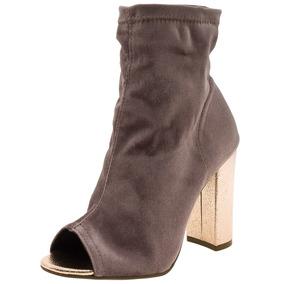 Bota Feminina Ankle Boot Figo Via Marte - 173401