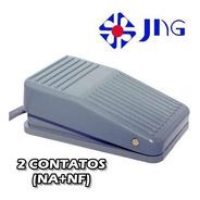 Kit 6 Pedaleira De Comando 2 Contatos Na Nf Liga Desliga Jng