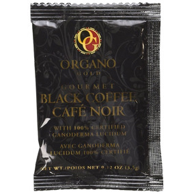 Organo Gold Gourmet Black Ganoderma Coffee (1 Box Of 30 Sach