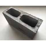 Bloco De Concreto Estrutural 14x19x39cm Semi Aparente 4,5mpa