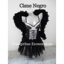 Disfraz Angel Negro Diablita Conejita Play Boy Sexy Envio