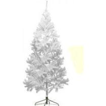 Árvore De Natal Pinheiro Real 1,50m Branca