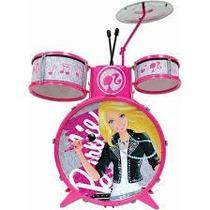 Bateria Infantil Barbie - Fun Diverta-se