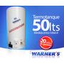 Termotanque De Cobre 50lts Warners Plus Gtia 20 Años Yanett