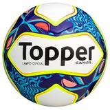 Bola Futebol Campo Topper Samba Campeonato Carioca 2017