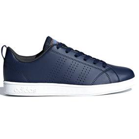 Tenis adidas Advantage Clean Db1936 Marino Banco 2 Al 6