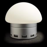 Necnon Cargador Hub Usb Luminoso 6 Puertos Protección Nl-1 P