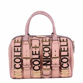 Bolsa Para Dama Nicole Lee Sty P12064 Rosa 100% Original*