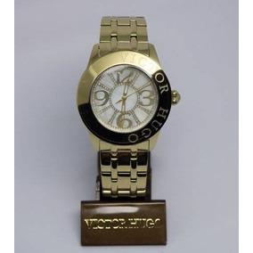 81d39c51dcf Relogio Feminino Victor Hugo Dourado - Relógios De Pulso no Mercado ...