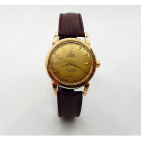 Reloj Omega Seamaster Calendar Plaque De Oro Original