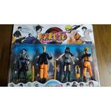 Muñecos Naruto Blister 4 Personajes Itachi Uchiha Minato