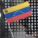 Bandera De Venezuela - Tela 30x18