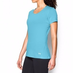 Remera Under Armour Coolswitch Ss Mujer Celeste Envio Gratis