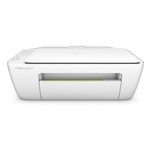 Impresora a color multifunción HP DeskJet Ink Advantage 2134 110V/220V blanca