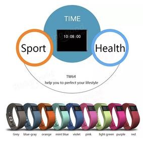 Reloj Smart Band Tw64 Bluetooth - Running - Importador