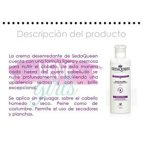 Crema Hidratante Para Todo Tipo De Cabello Seda Queen 240 Ml