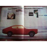 Ford Taunus Coupe 1975 Publicidad Gráfica