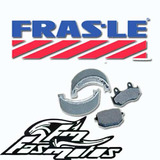 Zapatas De Freno Frasle Honda Cg Titan 150 Twister Storm Fas