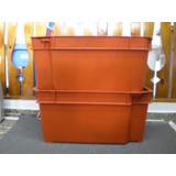 Cajon - Canasto Plastico Apilable Embutible Reforzado